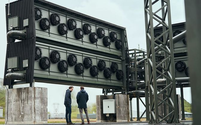Cover image for Climeworks launched Orca - a new direct air capture and storage plant